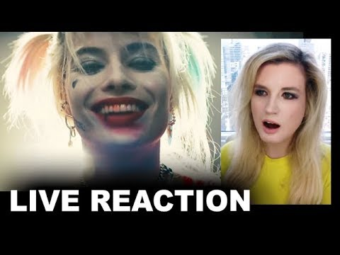 Birds of Prey Trailer REACTION