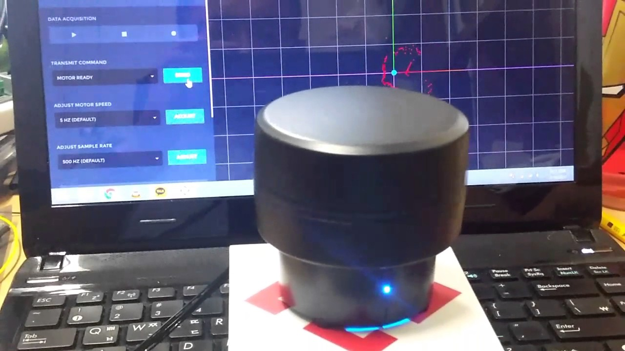 Scanse Sweep LIDAR Error