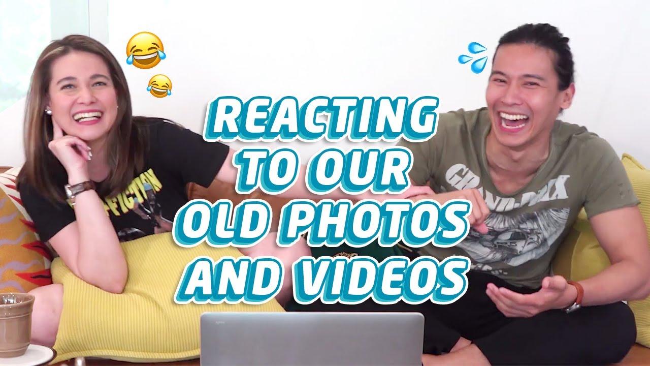 Reacting to Old Photos & Videos w/ @Bea Alonzo | Enchong Dee