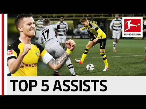 Marco Reus - Top 5 Assists