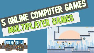 5 Online Multiplayer Computer Games To Play With Family During Lockdown !!!! || #gamingworld
