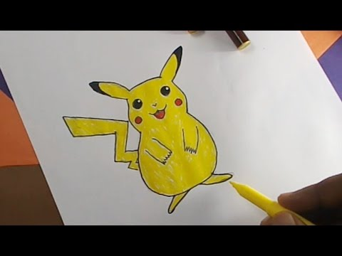 How To Draw A Pokemon Kids Drawing Practice