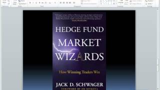 Jack Schwager Q&A Hedge Fund Market Wizards
