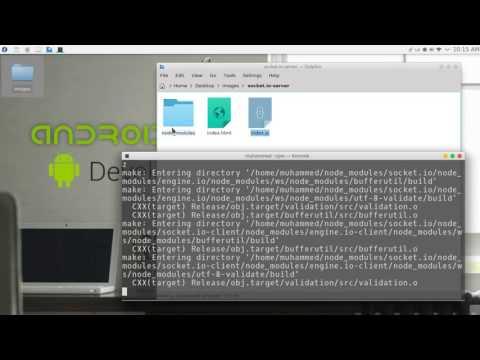 237 Android Studio Chat Network JSON NodeJS JavaScript