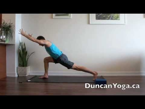 """""""burn off calories and stress"""" power yoga flow  youtube"""