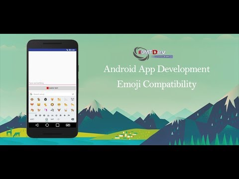 Android Development Tutorial  - Emoji Compatibility