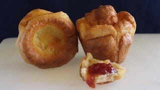 Pan de 3 ingredientes sin levadura y en sólo 20 minutos | Yorkshire pudding | popovers