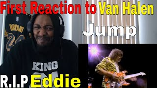 First Time Reacting to Van Halen - Jump (Official Music Video)
