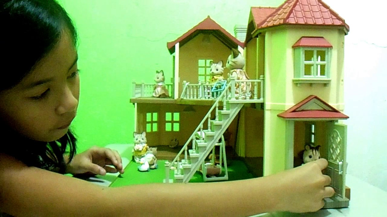 the beautiful house of sylvanian families