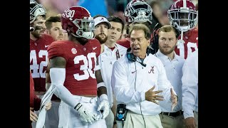 Getting yelled at by Nick Saban from Alabama players' perspective
