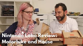 Nintendo Labo Review: Motorbike and House