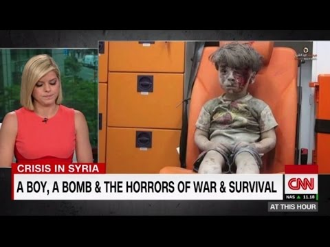Omran Daqneesh: our tears are not enough