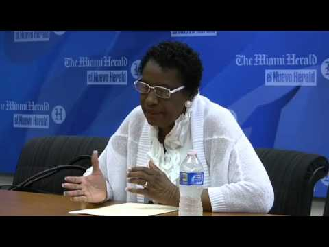 Interview with Miami-Dade Commissioner Barbara Jordan