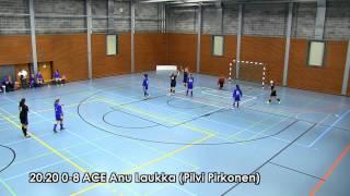 SiPS-ACE 1-10 (0-7) Futsal-Liiga naiset 3.11.12 maalikooste
