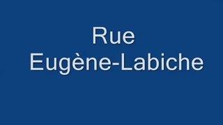 Rue Eugène LabicheParis Arrondissement  16e