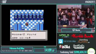 Awesome Games Done Quick 2015 - Part 149 - Pokemon Red by Werster