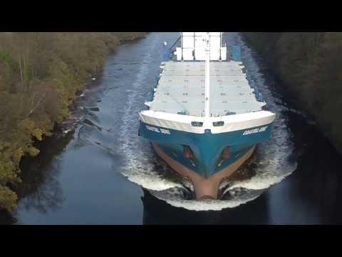 Manchester Ship Canal Coastal Deniz  13/03/2014