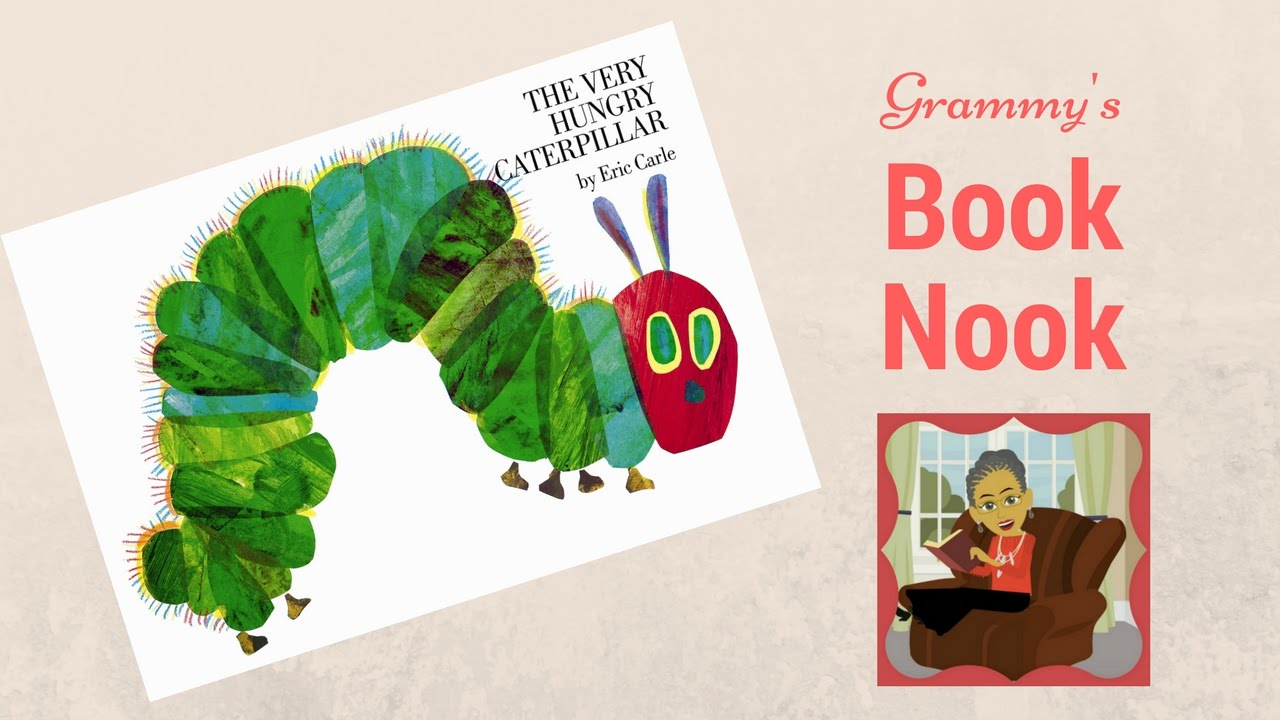 the very hungry caterpillar children u0027s books read aloud youtube