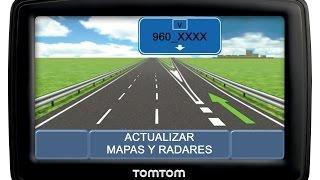 Actualizar mapas 960_XXXX y radares TomTom GRATIS