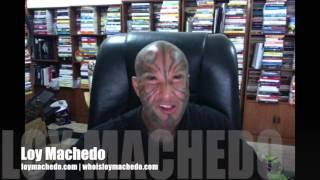 Loy Machedo Eats Dog Food - Live On Camera