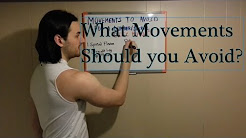 Movements and Exercises to Avoid for Someone Suffering from a Lumbar/Sacral Disc Bulge