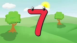 I numeri da 1 a 10 in ITALIANO per bambini   Impara i numeri   Learn italian   Aprenda italiano