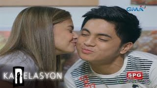 karelasyon one kiss for the yummy dessert