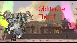 Obliterate them! - Frost dk pvp 8.2.5