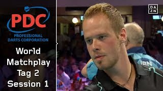 Gelingt Max Hopps World-Matchplay-Debüt? | World Matchplay 2018 | Tag 2 | Session 1 | PDC