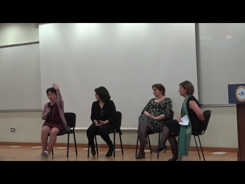 The Empowerment of Girls and Women in Armenia. Plenary Panel 3, Parallel breakout sessions