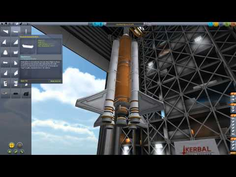 Kerbal Space Program. Гайд/совет по постройке хорошей ракеты.