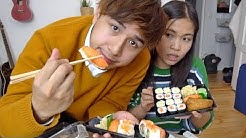 Sushiexperte bewertet Supermarkt Sushi vs Liefersushi