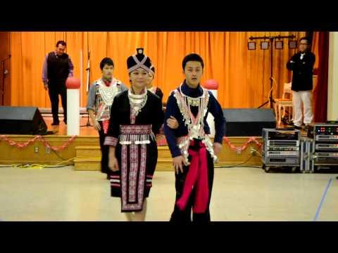 Akron Ohio Hmong New Year Fashion Show Part 2 2012-12