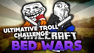 Ultimative Troll Challenge! - Minecraft Bed Wars (Deutsch/German)