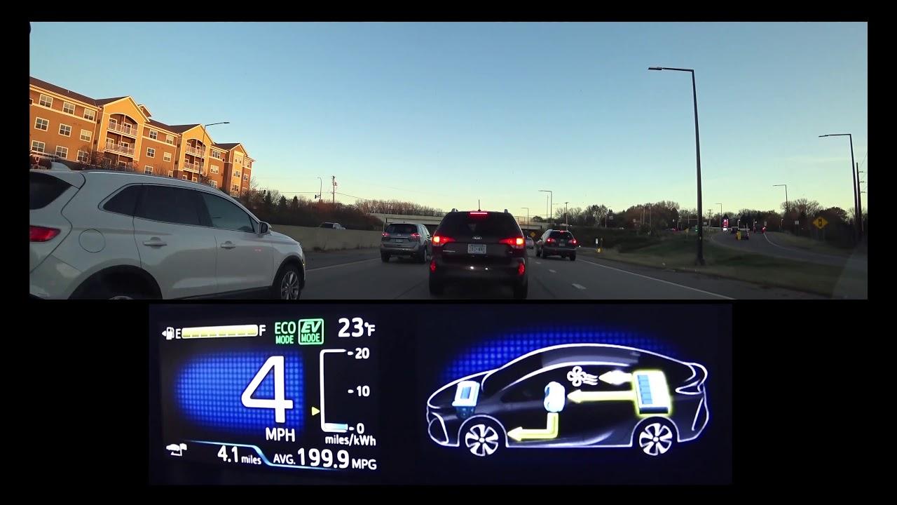 Prius Prime Accident Delay In 4k