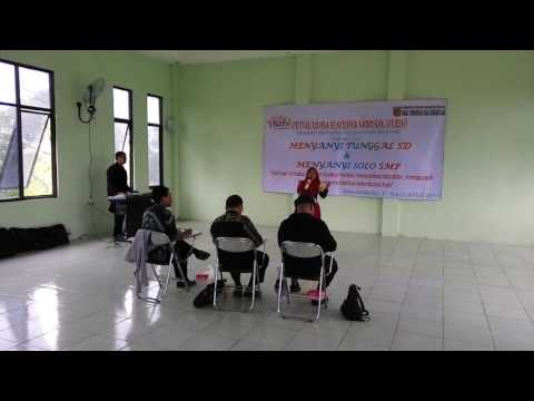 SALSABILA NOVEL Banjarmasin Bungas, Juara 2 FLS2N Tingkat SD se  Kalsel Tahun 2017, Masih kecil suda