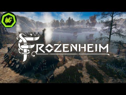 RTS Viking base building PC game | Frozenheim thumbnail