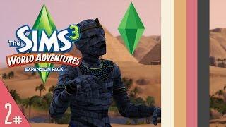 Sims 3: World Adventures | Part 2 | MUMMY!