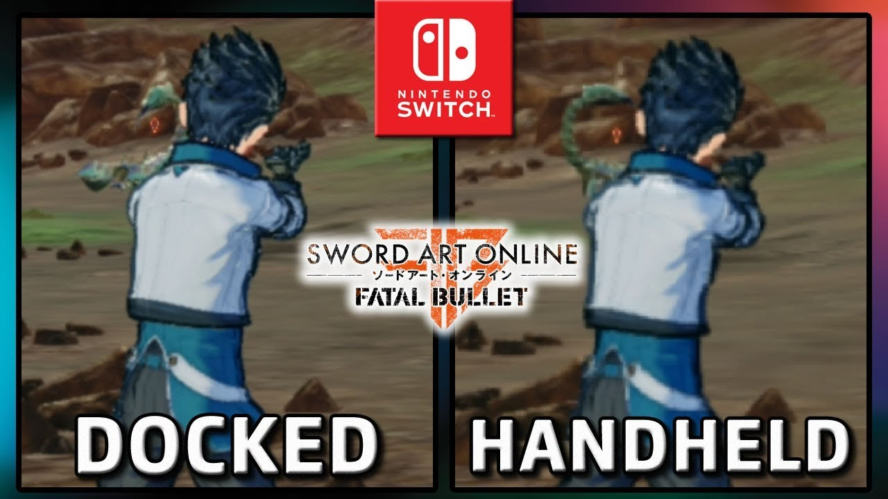 SWORD ART ONLINE: FATAL BULLET | Docked VS Handheld | Frame Rate TEST on Switch