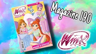 Winx Club - Magazine 190 (The first of the new DECADE)