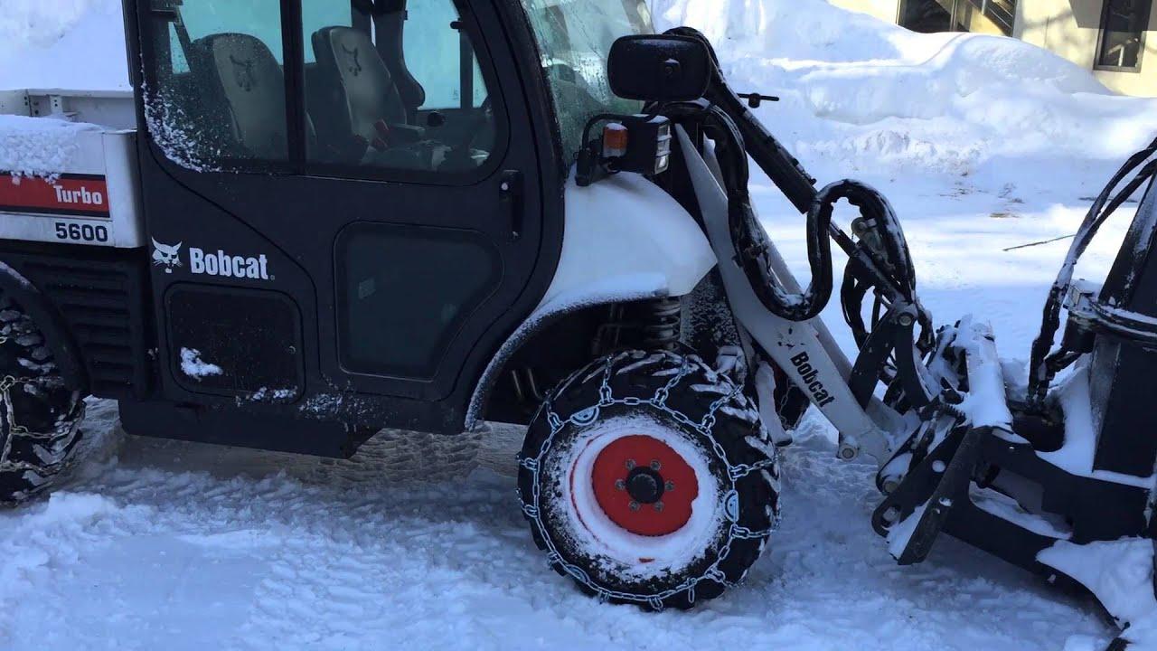 Bobcat Toolcat 5600 High Flow w/ SB240 Snowblower