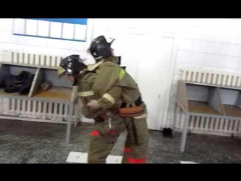 Фото отчёт Тазовской пожарной части