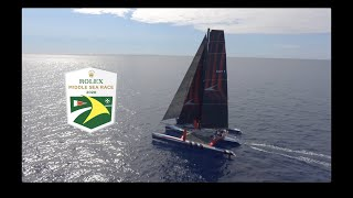 2020 ROLEX Middle Sea Race on SHOCKWAVE