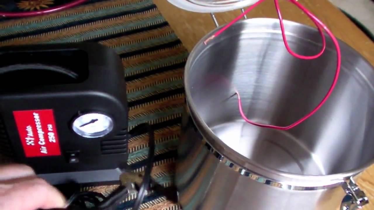 Making A Cheap Vacuum Pump Youtube