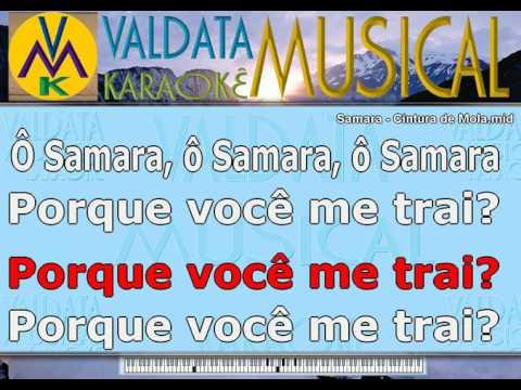 Samara   Cintura de Mola   Karaoke