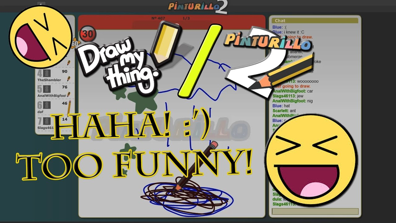 Draw my Thing / Pinturillo 2 - Funny Games with Friends! - Silly ...