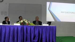 Economic Globalization and Economic Challenges facing Cambodia by Dr. Benny Widyono 3/4