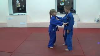Броски дзюдо. Дети 6 лет.  Training SPORTY KIDS