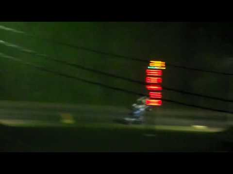 Shawn Donath's Utica Rome Speedway accident in real time, with extended slo mo