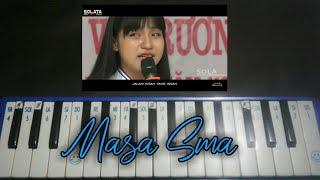 Not pianika lagu perpisah  sekolah paling sedih Masa Sma - angle 9 band ( jangan nangis )